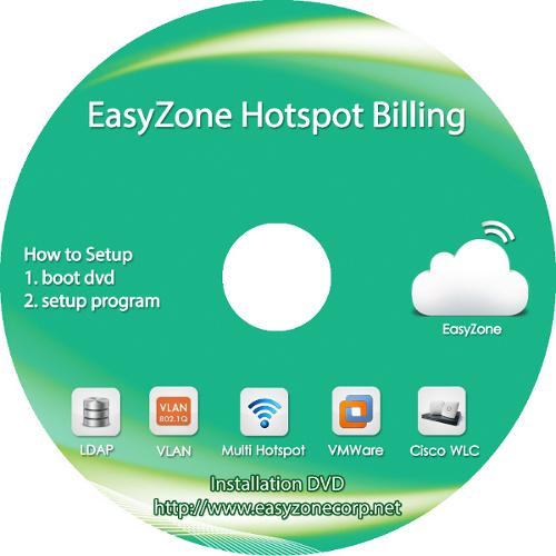 EasyZone Hotspot Billing v3.5o (100 concurrent users)